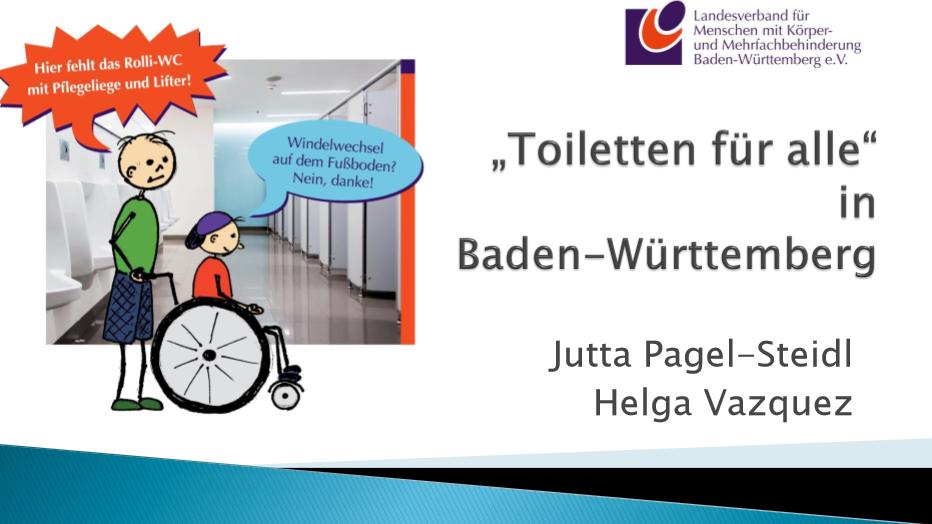 """Inklusion ohne """"Toiletten für alle""""? – Undenkbar!"""