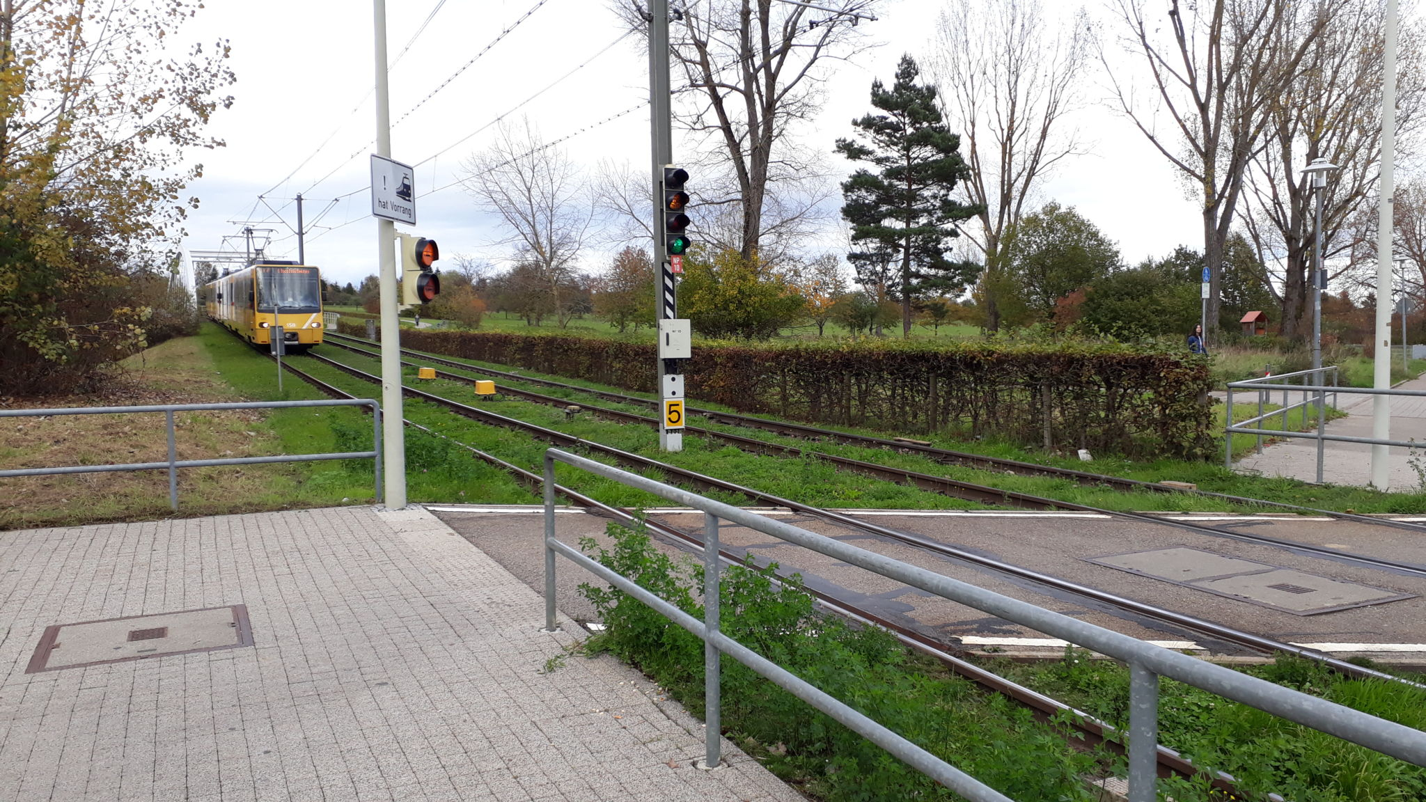 Stadtbahnhaltestelle Scharnhauser Park U7 / U8, Scharnhauser Park