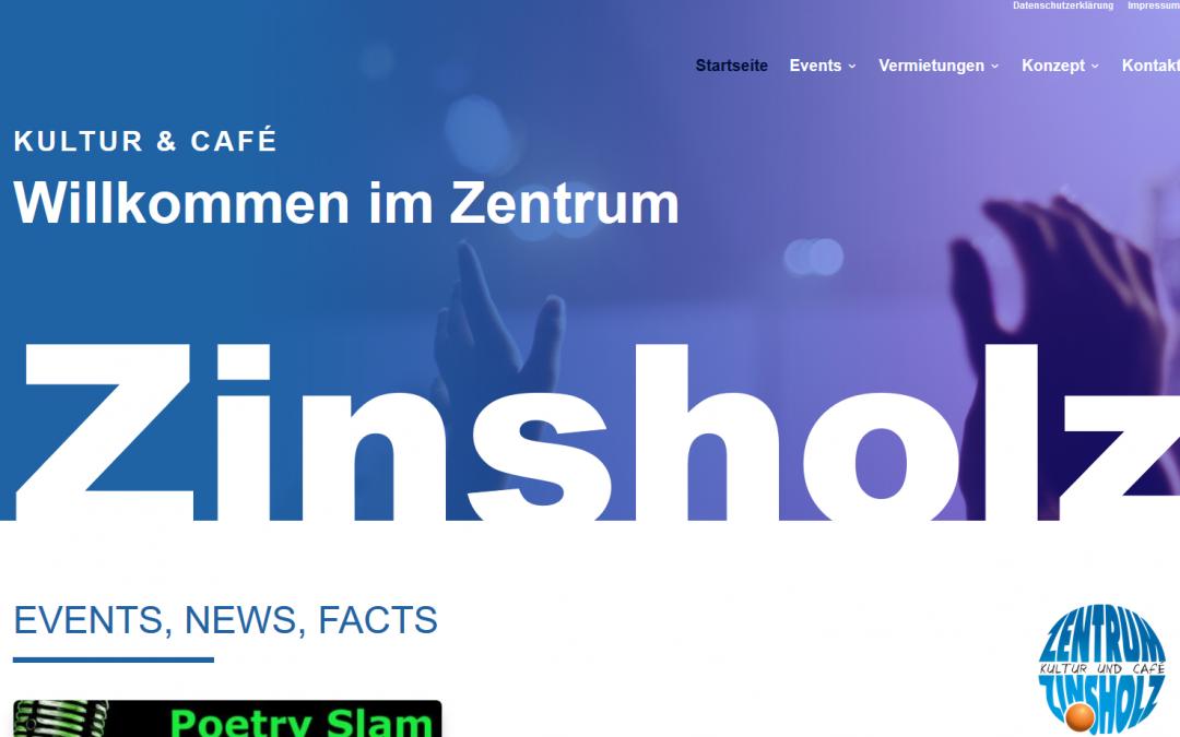Die neue Webseite vom Zins ist online