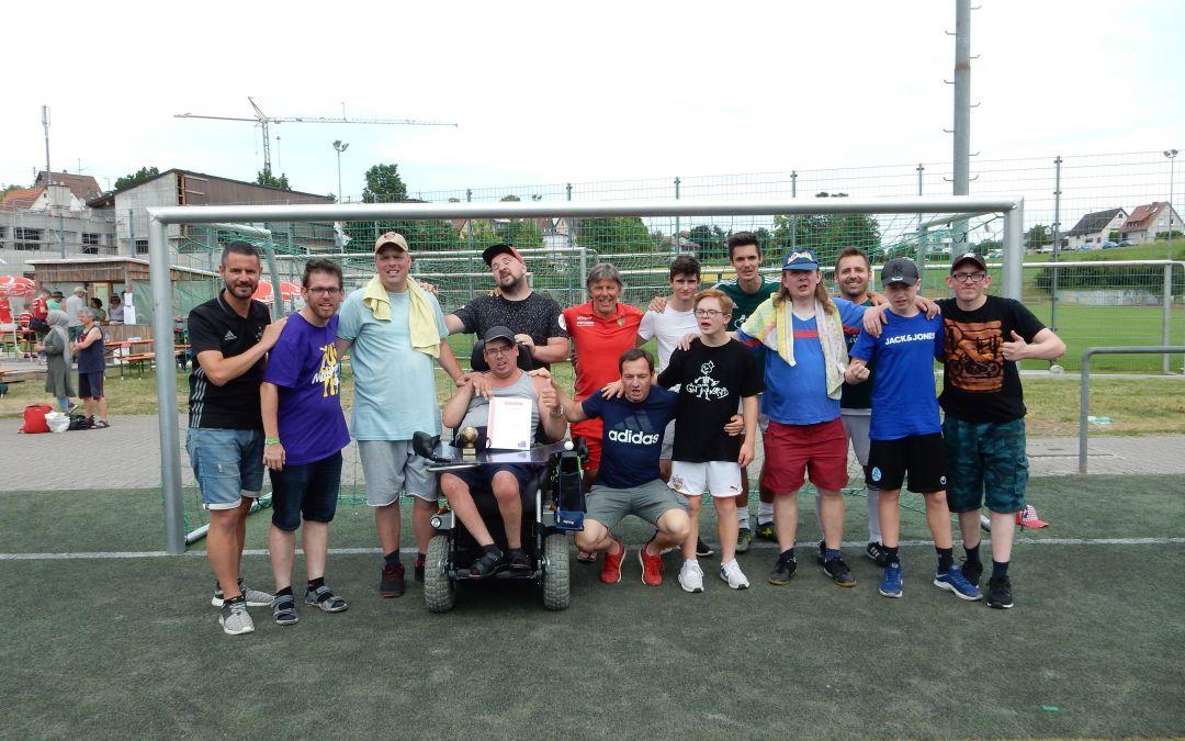 Nicht nur Spieler mit Handicap hatten beim Unified- Turnier ihren Spaß