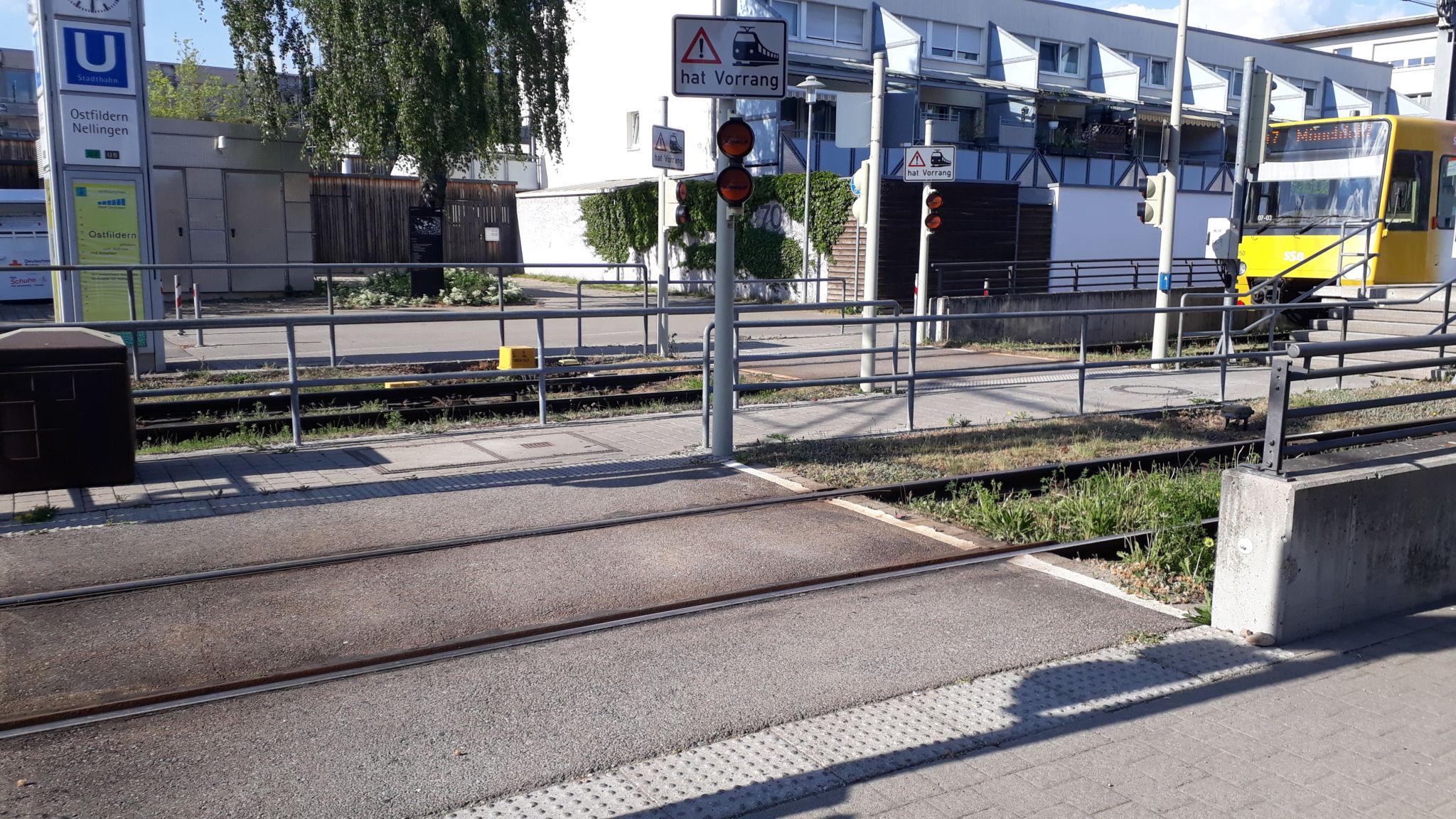 Stadtbahnhaltestelle Nellingen U7 / U8, Nellingen