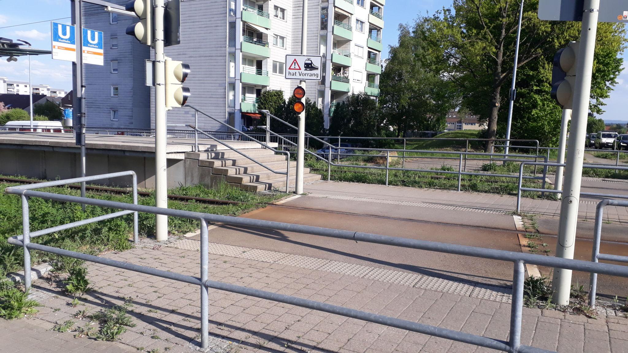 Stadtbahnhaltestelle Techn. Akademie U7 / U8, Nellingen