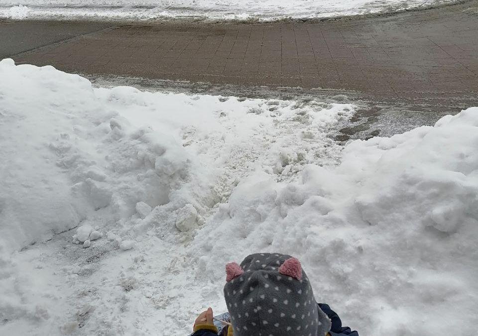 Winterzeit bedeutet auch Schneeräumdienst
